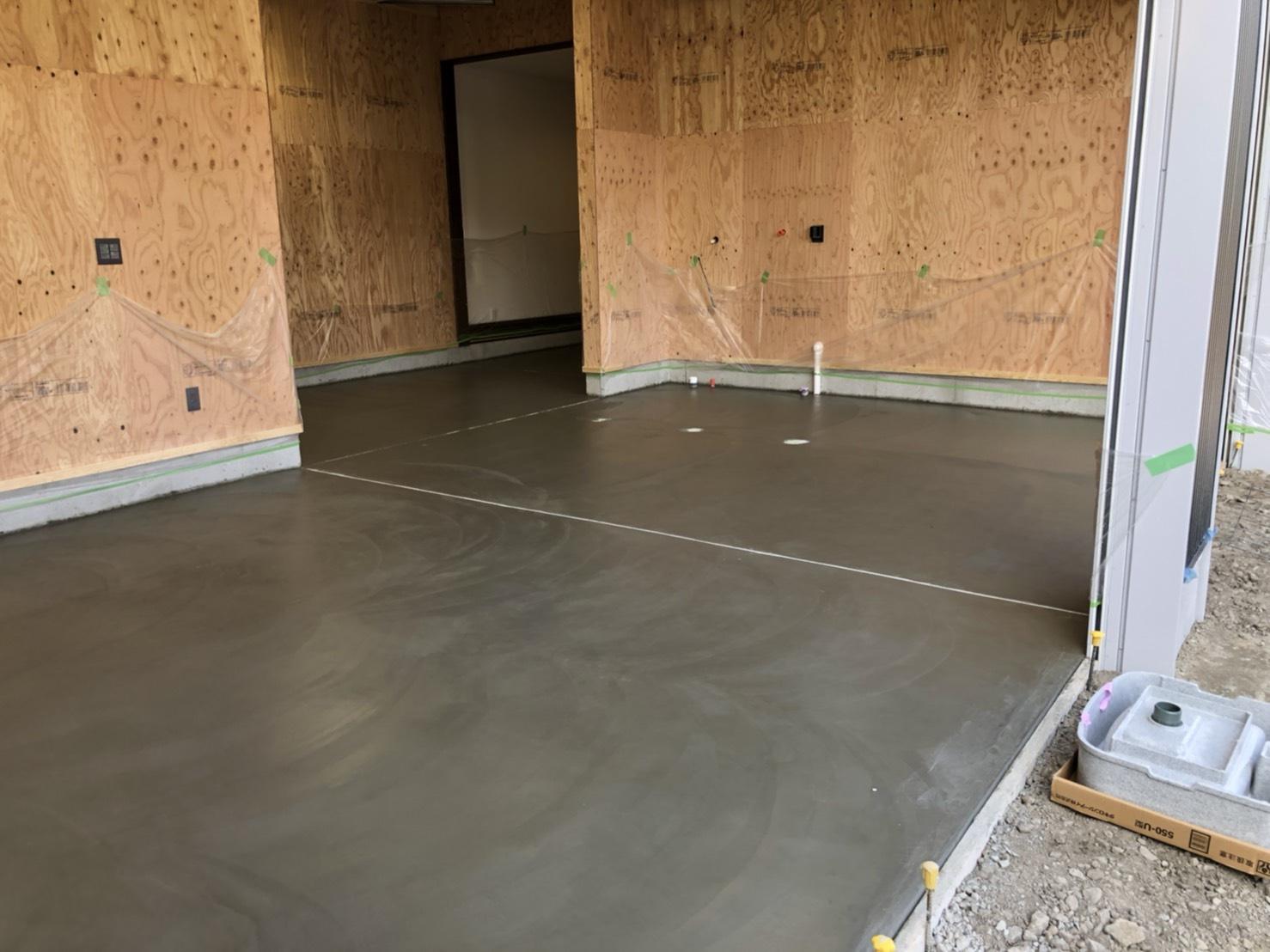 評判の良い電気屋さんの事務所新築工事